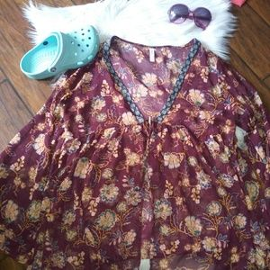 ❤🌴NWOT! Plus Size Bohemian Swimsuit Cover Up🌴❤